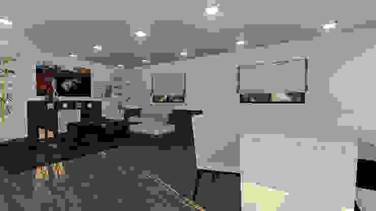 Modelo | T3 209m²: Casas pré-fabricadas  por Discovercasa | Casas de Madeira & Modulares
