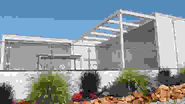 Modelo | T4 412m² Discovercasa | Casas de Madeira & Modulares Casas de madeira Madeira Branco