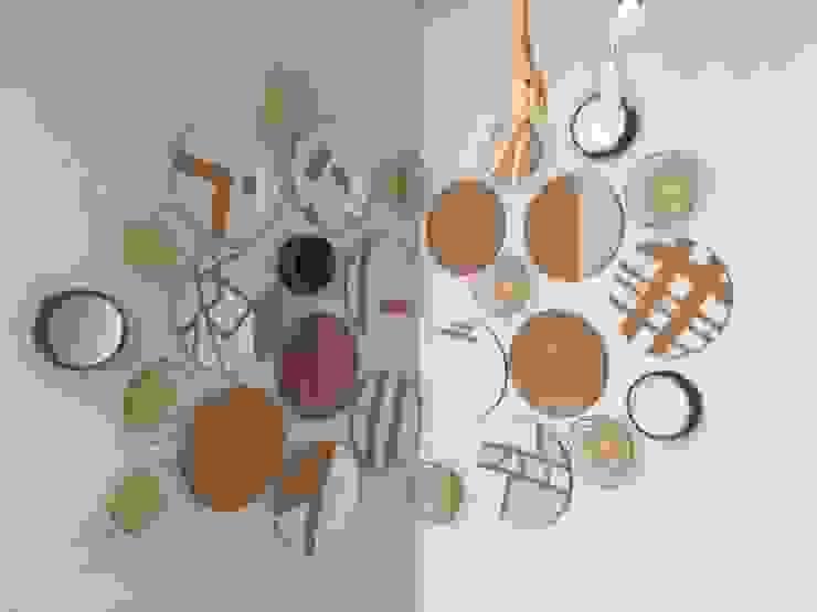 Composição de canto por Inês Florindo Lopes Moderno Compósito de madeira e plástico
