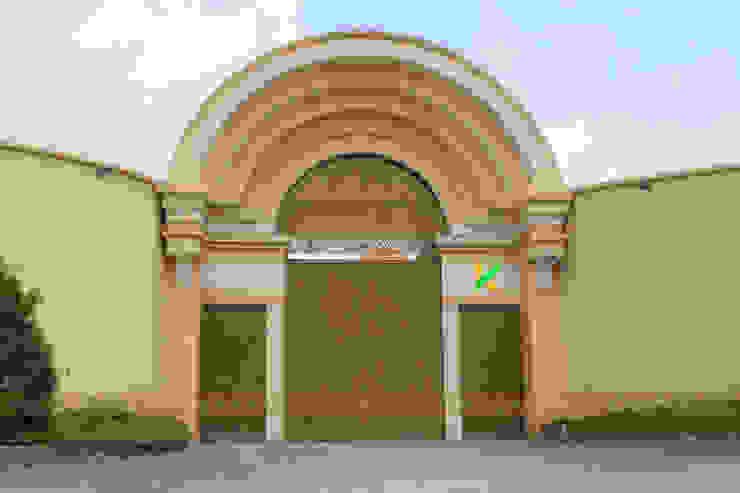 Thiết Kế kiến trúc cổng bởi Không Gian Đẹp XYZ