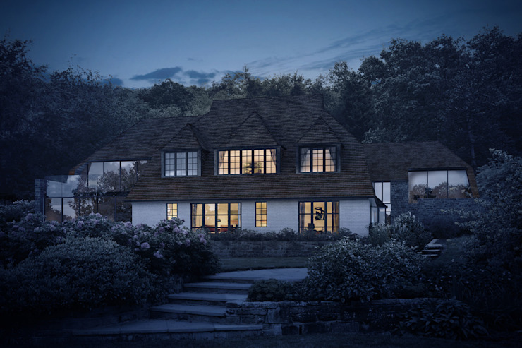Smart Glazing for Extensions to a 1920s Country House ArchitectureLIVE
