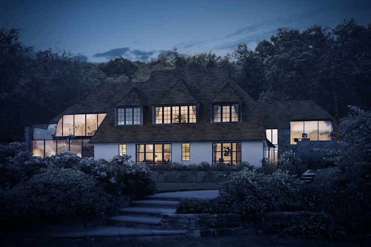 Contemporary Glazing for Extensions to a 1920s Country House ArchitectureLIVE