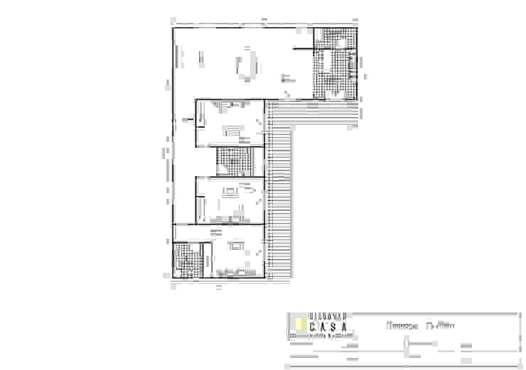 Modelo | T3 209m²:   por Discovercasa | Casas de Madeira & Modulares