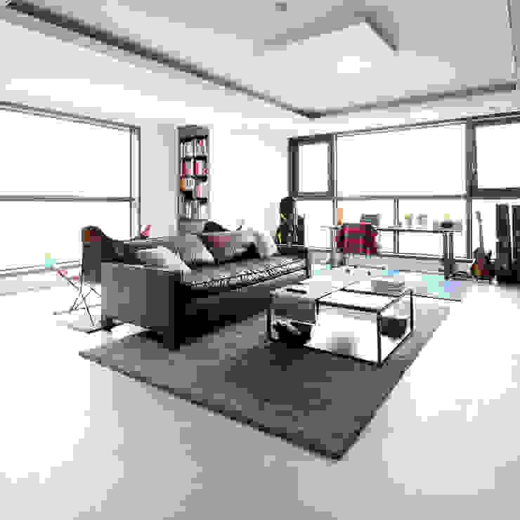 디자인담다 现代客厅設計點子、靈感 & 圖片