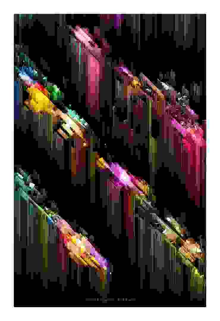 """Ciudad (axonometría o algo parecido)"" de Chris Fierro Arte Visual Moderno"