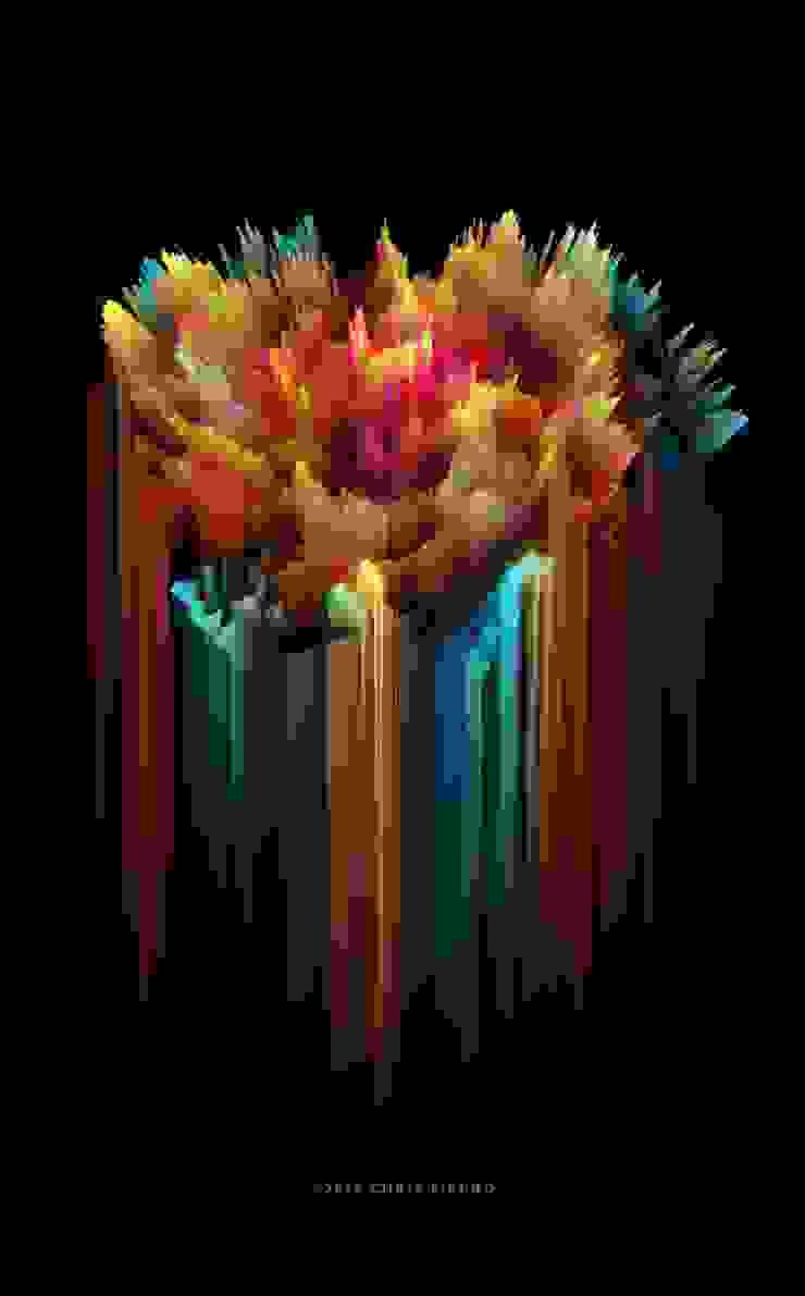 """""""Florecer abruptamente"""" de Chris Fierro Arte Visual Moderno"""