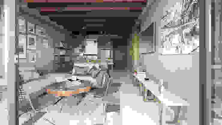 Prototipo 2 Mouret Arquitectura Salones modernos