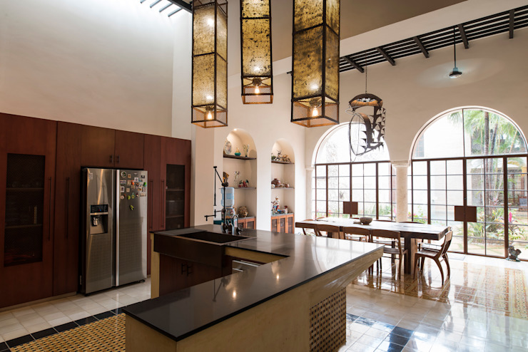 Colonial style kitchen by Taller Estilo Arquitectura Colonial