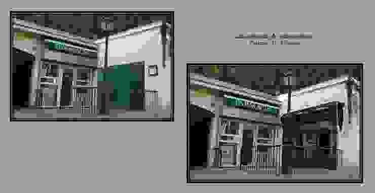 Spazi commerciali in stile classico di Pancho R. Ochoa Interiorismo Classico Ferro / Acciaio