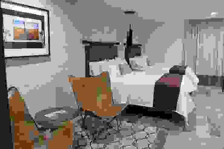 Hotel Arborea: MONTAUDON INTERIORISMO Hoteles de estilo moderno