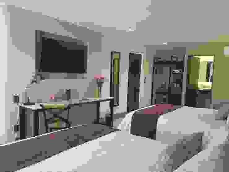 Hotel Arborea MONTAUDON INTERIORISMO Hoteles de estilo moderno