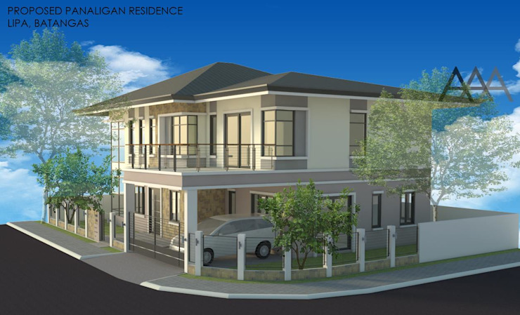 2 - Storey Private Residence in Lipa, Batangas by AAA Architects and Interiors