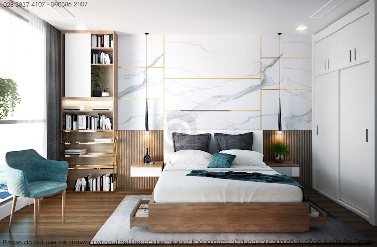 HO1836 Luxury Apartment/ Bel Decor bởi Bel Decor