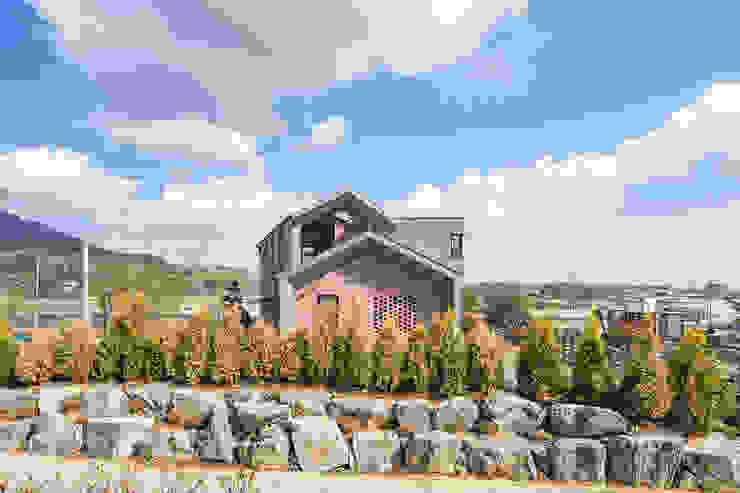 전라북도 익산시 삼기면 기산리 단독주택 신축 모던스타일 주택 by 바이제로 모던