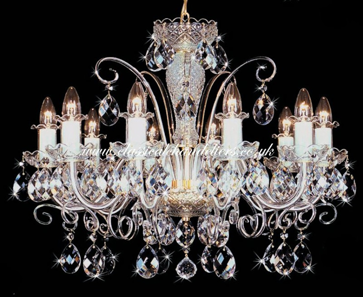 Glass Arm BC43097 yy-505SW Chandelier Classical Chandeliers Living roomLighting