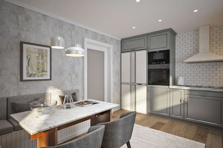 yücel partners Built-in kitchens