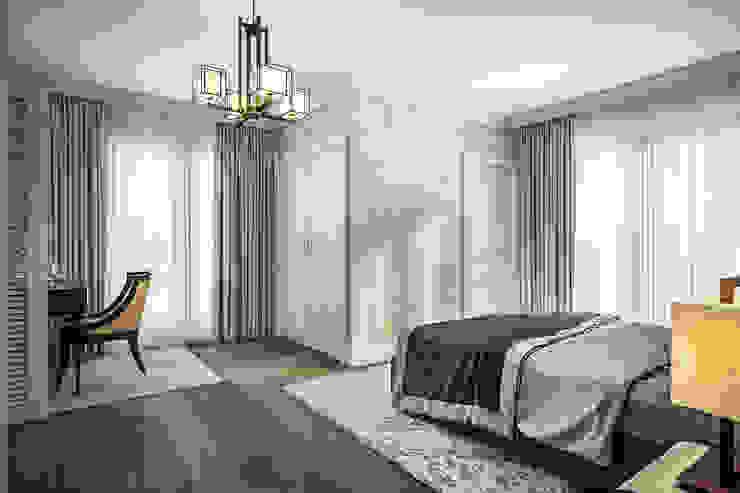 S&E Esnafoglu Evi Modern Yatak Odası yücel partners Modern