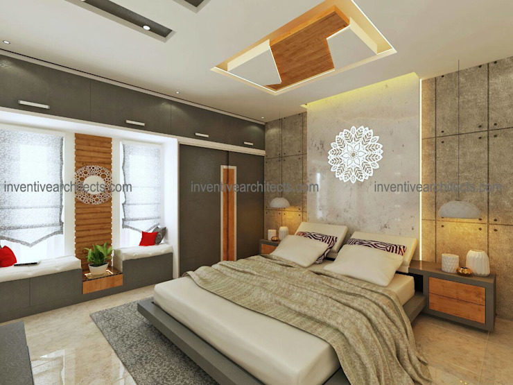 Interior Project Inventivearchitects Modern style bedroom