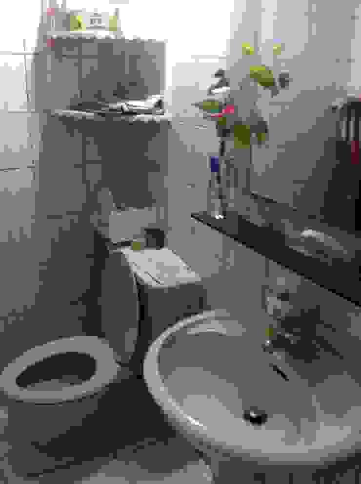 一樓衛浴before: 斯堪的納維亞  by 懷謙建設有限公司, 北歐風