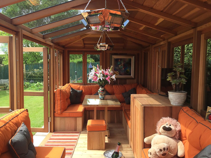 Outdoor Garden Rooms من Garden Furniture Centre حداثي