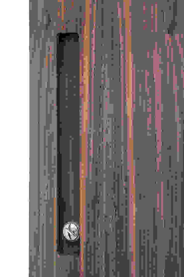 Dettaglio Wood Box di studiodonizelli Moderno Legno Effetto legno
