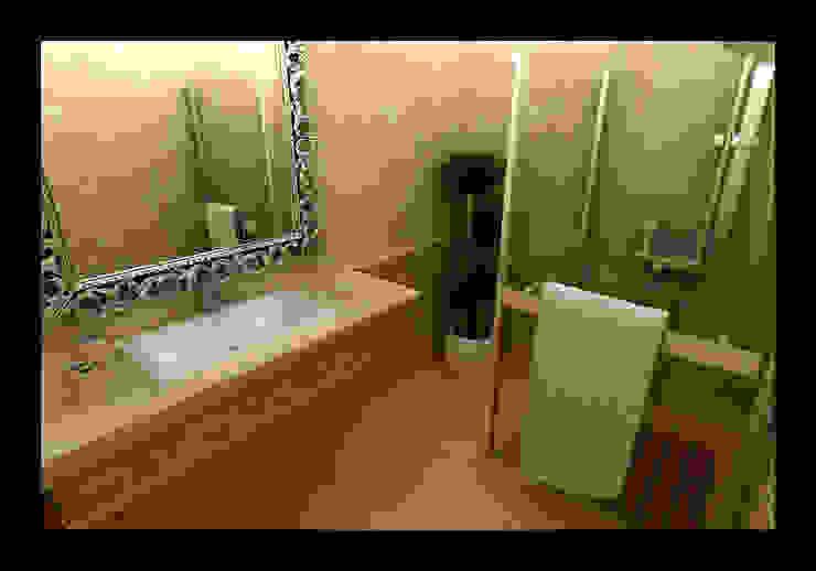 Rustic style bathroom by NDA CONCEPT Rustic