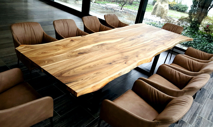 luanna design Dining roomTables Wood