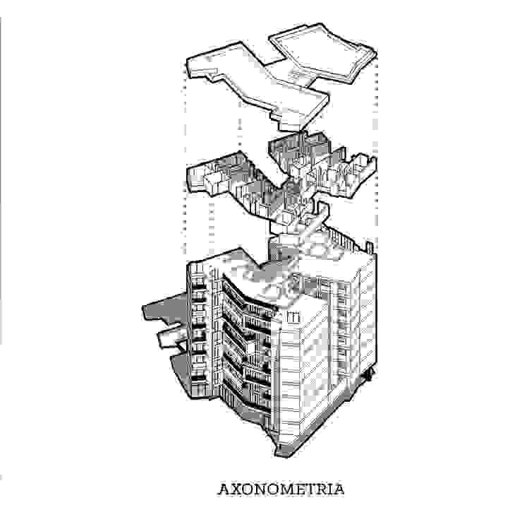 AXONOMETRA RESERVAS ALTOS DE SANTA HELENA de 365 Estudio Moderno