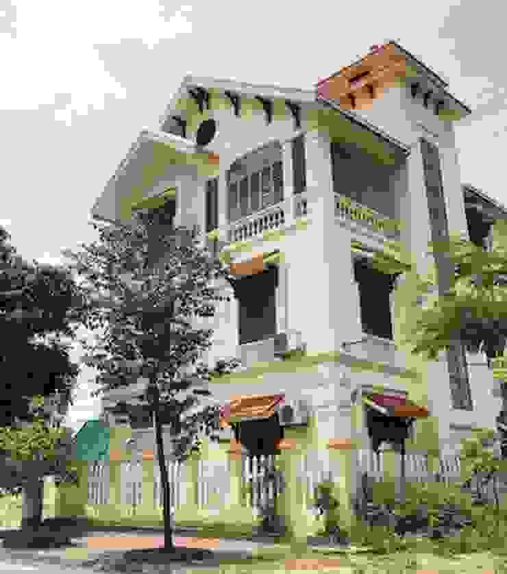 Những thiết kế nhà, biệt thự mái dốc đẹp ấn tượng nhất hiện nay bởi Việt Architect Group