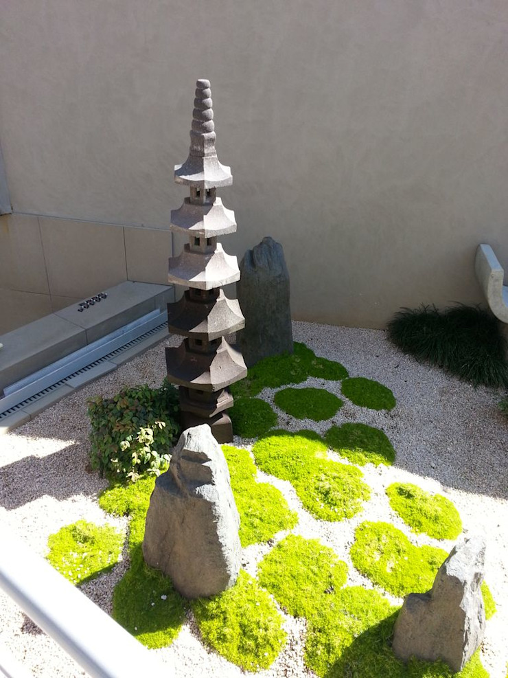 HORE Asian style garden by Japanese Garden Concepts Asian