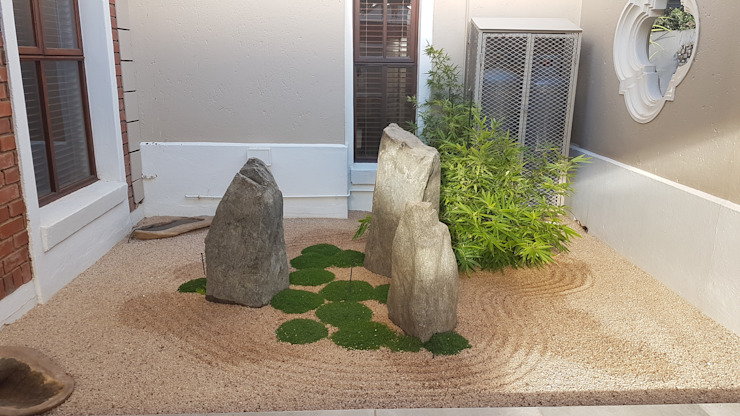 DREYER ZEN GARDEN Asian style garden by Japanese Garden Concepts Asian