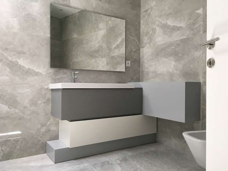 KUUK BathroomMedicine cabinets Grey