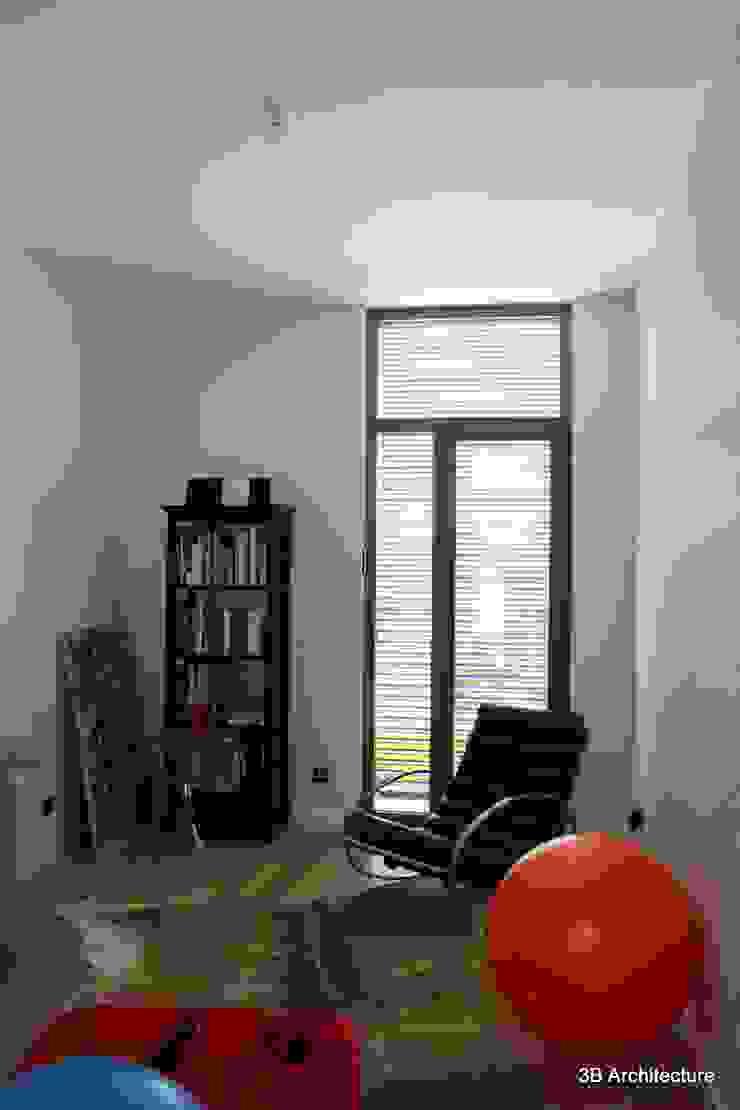 Pièce hybride le bureau accueil les équipements sportifs Bureau minimaliste par 3B Architecture Minimaliste