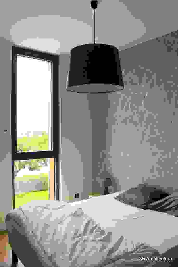 Chambre avec vue sur Nancy Chambre minimaliste par 3B Architecture Minimaliste