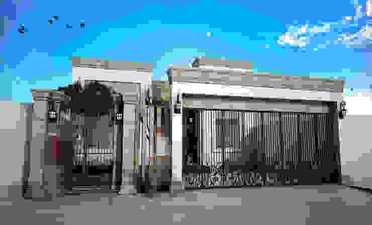 Fachada Principal residencia OG Casas de estilo clásico de Osuna Arquitecto Clásico