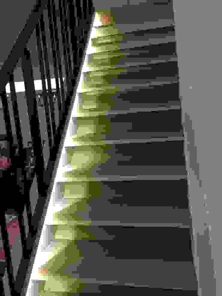 階梯改造後: 斯堪的納維亞  by 懷謙建設有限公司, 北歐風