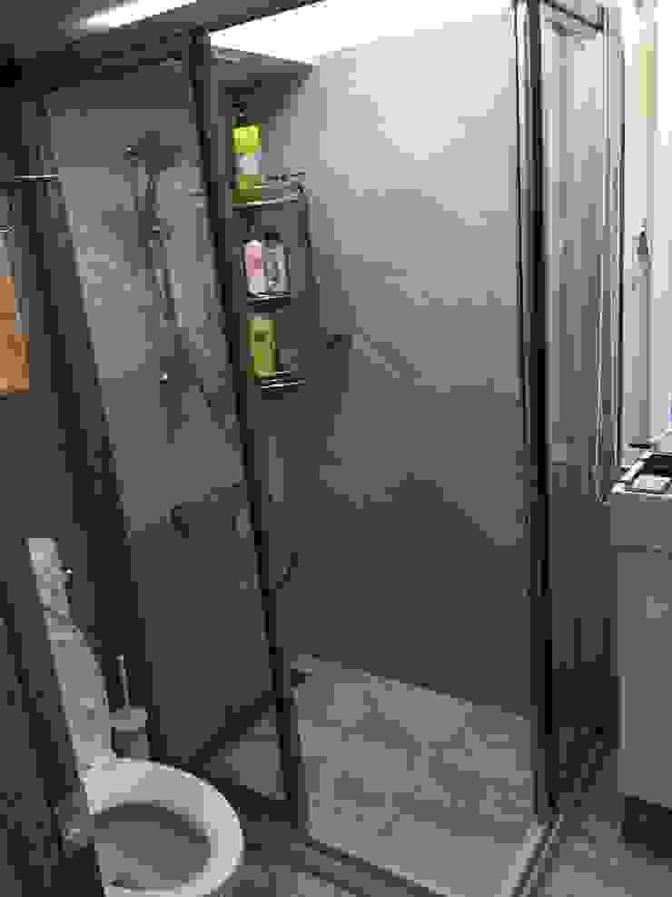 二樓浴室完工後: 斯堪的納維亞  by 懷謙建設有限公司, 北歐風