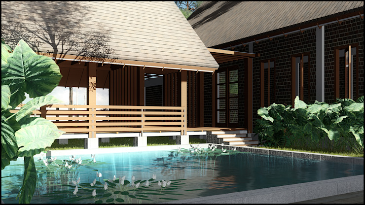 Villa Cibodas Lembang Oleh SARAGA Studio Arsitektur Tropis