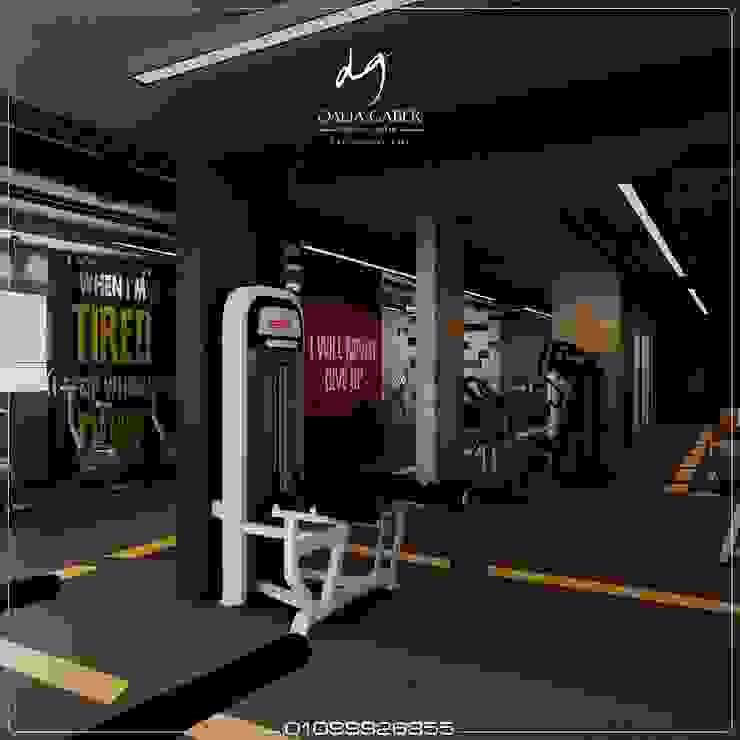 Hotel Men Gym by Dalia Gaber : حديث  تنفيذ DeZign center office by Dalia Gaber , حداثي