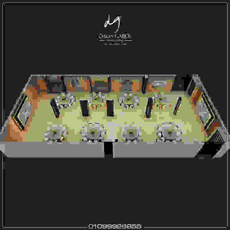 Wedding Hall at Hotel by Dalia Gaber : حديث  تنفيذ DeZign center office by Dalia Gaber , حداثي