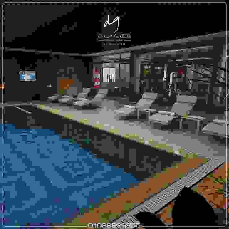 Hotel Men Pool  by Dalia Gaber: حديث  تنفيذ DeZign center office by Dalia Gaber , حداثي