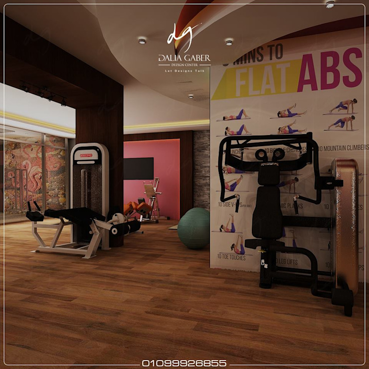 modern  by DeZign center office by Dalia Gaber , Modern