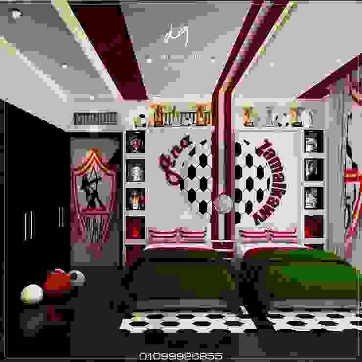 Eammr Villa Up Town Cairo by Dalia Gaber Dezignceter office: حديث  تنفيذ DeZign center office by Dalia Gaber , حداثي