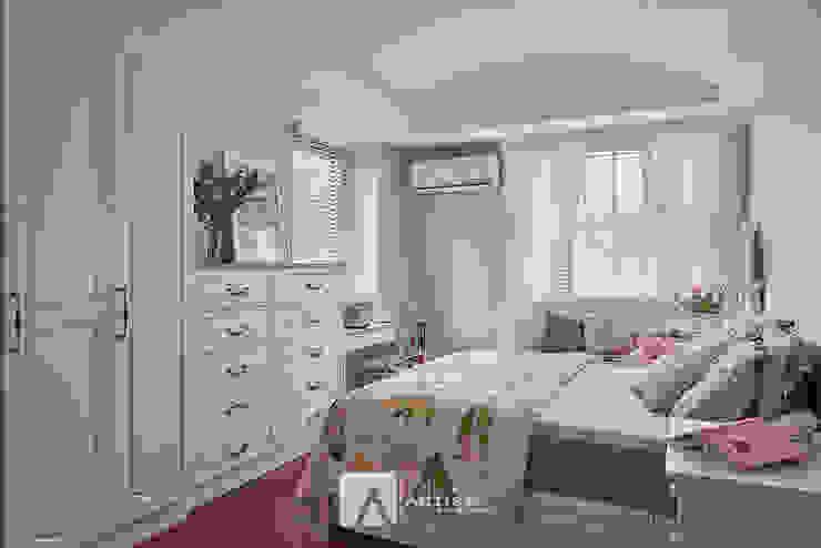 樂活   美式鄉村 3房2廳   芸匠室內設計 Artisan Design 根據 芸匠室內裝修設計有限公司 鄉村風