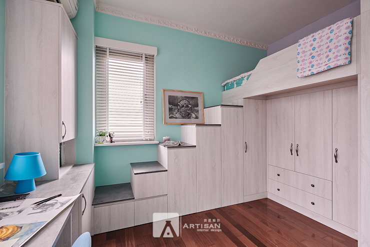 Country style bedroom by 芸匠室內裝修設計有限公司 Country
