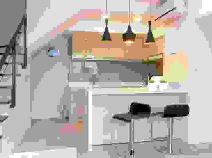 廚房: 斯堪的納維亞  by 懷謙建設有限公司, 北歐風