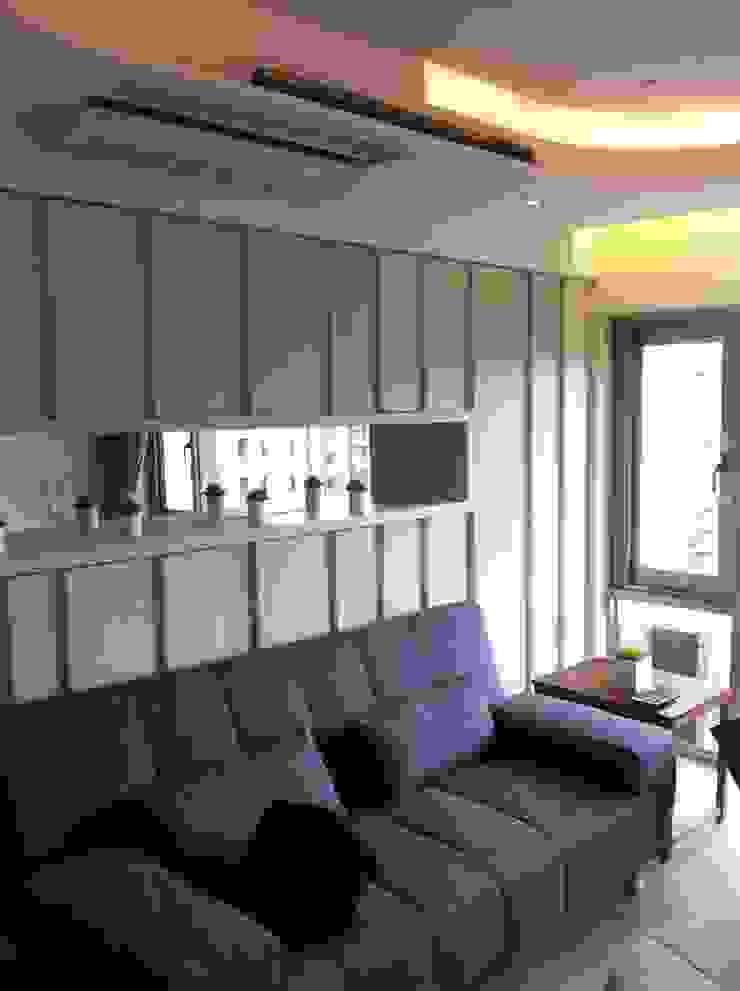客廳: 斯堪的納維亞  by 懷謙建設有限公司, 北歐風