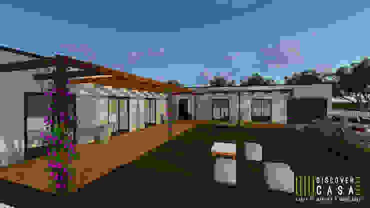 Modelo | T5 324m² Discovercasa | Casas de Madeira & Modulares Casas de madeira Madeira Branco