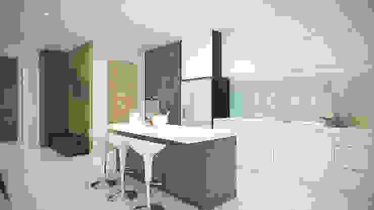 Kitchen by Yucas Design & Build Sdn. Bhd.