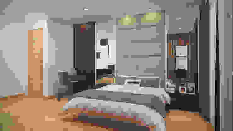 Bedroom by Yucas Design & Build Sdn. Bhd.